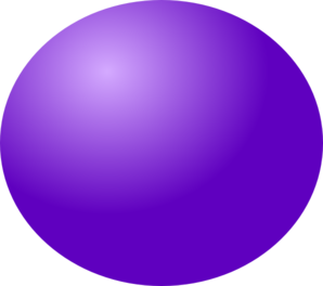Purple Ball Clip Art