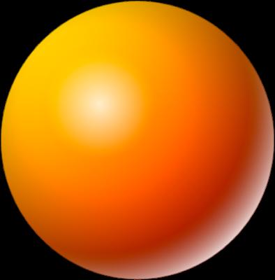 Sphere clipart 3d shape #4