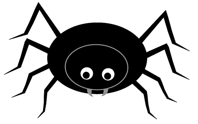 Newest Free Spider Clipart 79 With Additional Plant Clipart with Free Spider  Clipart