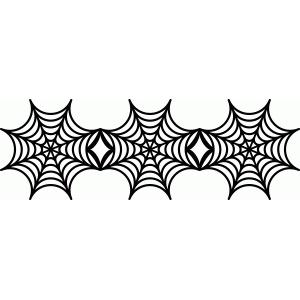 Spider Web Border-hdclipartall.com-Clip Art300