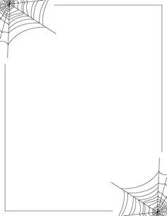 Spider clipart border #11