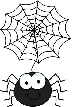 spiders dangling from web - Google Search