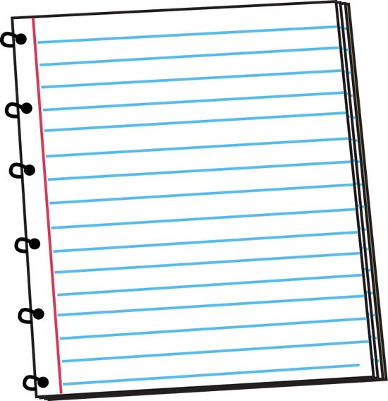 Spiral Notebook Clip Art
