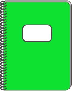 Spiral Notebook Clip Art Download