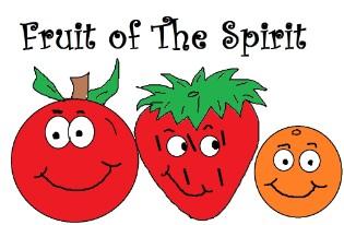 spirit clipart, fruit of .