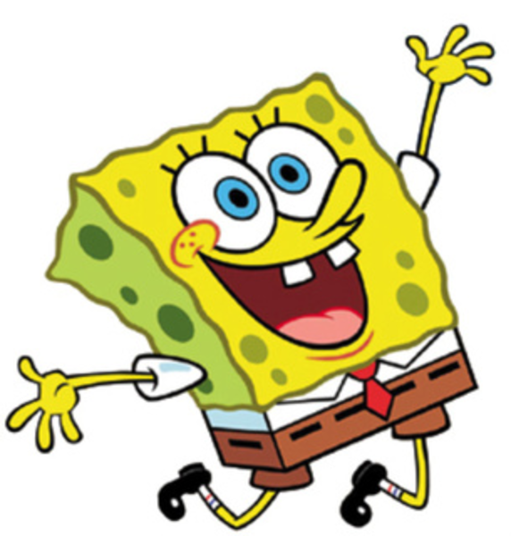Spongebob Squarepants Winning Clipart #1