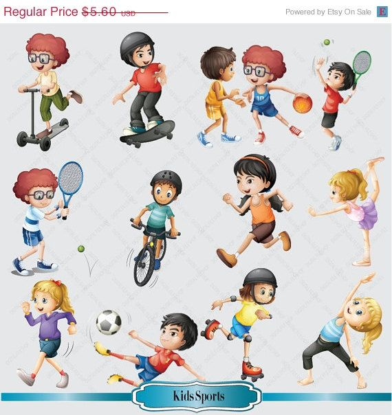 Clipart Sports Activities Clipart