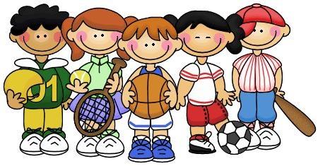 Sports kids clip art illustration clip art sports
