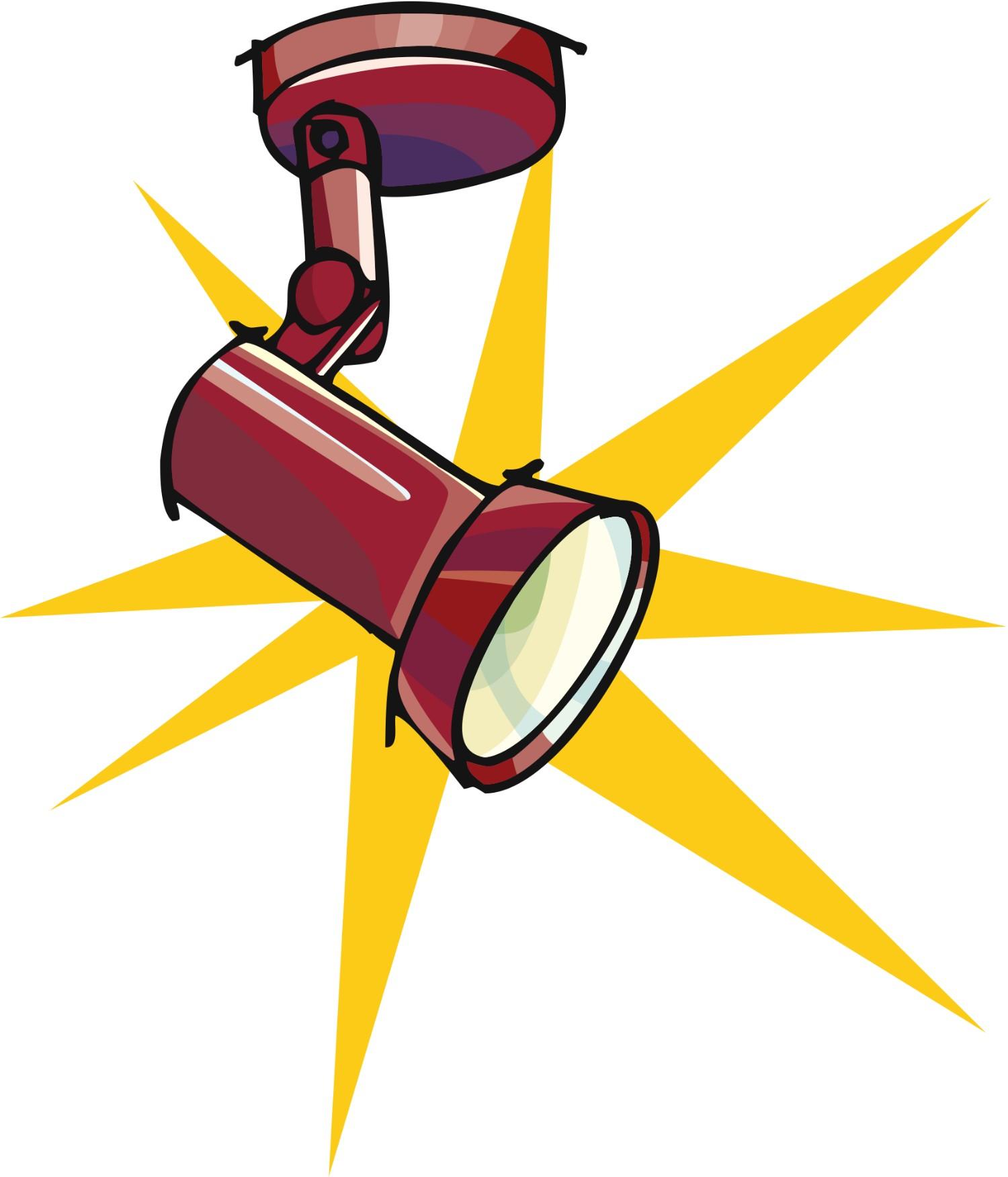 Spotlight clip art image