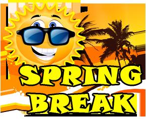... Spring break 2016 road sighn clipart - ClipartFox ...