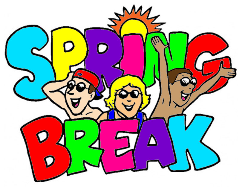 Spring break clip art