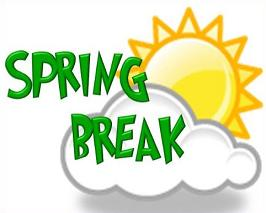 ... Spring break clipart ...