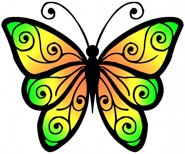 Spring Butterfly Clipart | Clipart library - Free Clipart Images