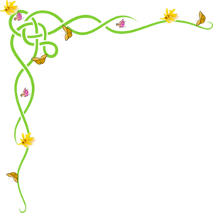Spring Flowers Border Clipart Clipart Panda Free Clipart Images