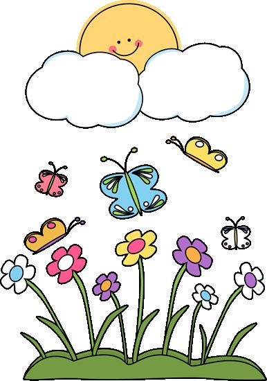 Spring Sun - Spring Clip Art