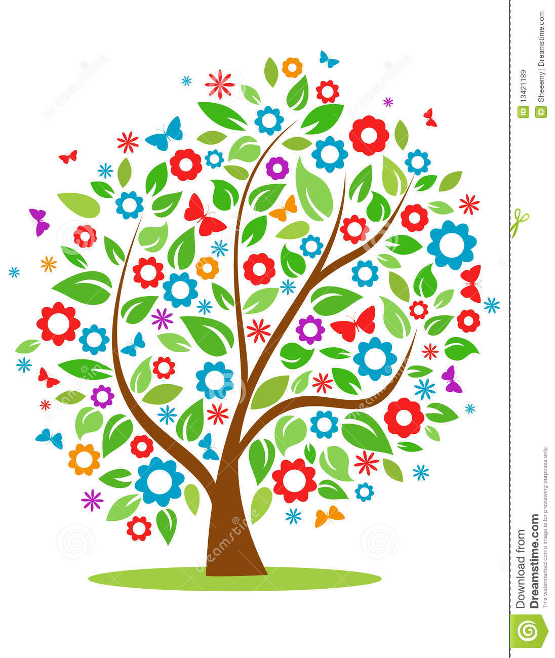 Spring Tree Clipart Spring .