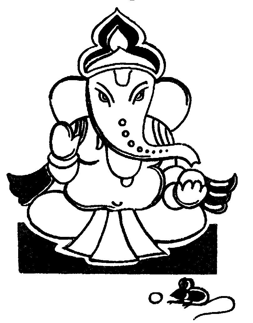free clipart, clipart, american flags clipart, thanksgiving clipart, clip  art,free clipart: God Ganesh Clip Art