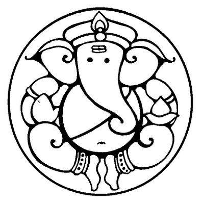 Symbolism of Lord Ganeshau0027s form ganesha clip art round