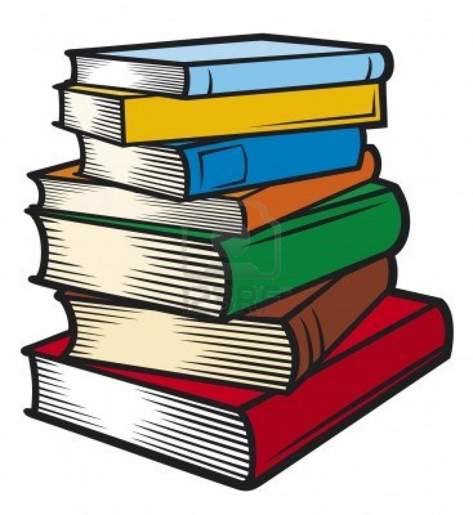 Stack Of Books Clip Art Free .
