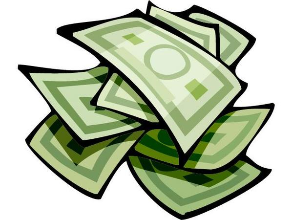Stack Of Money Clipart Png