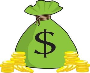Stacks Of Money Clipart