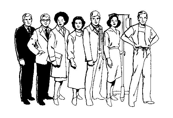 Staff cliparts