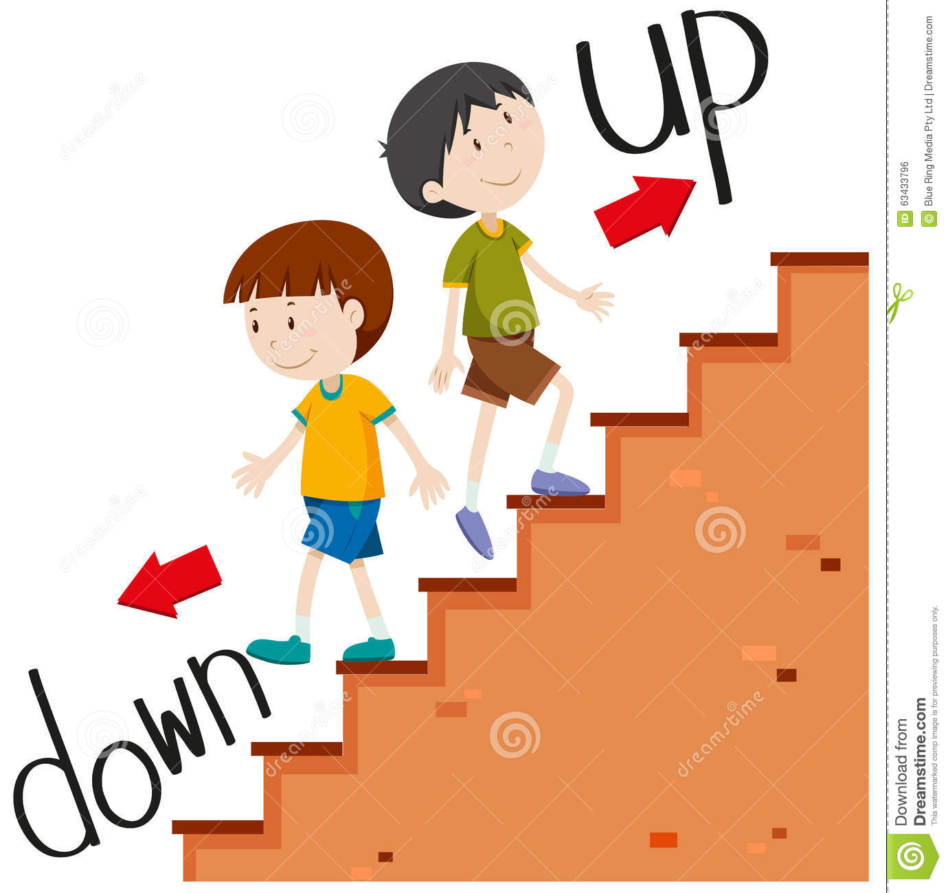 28  Collection of Boy Climbin - Stairs Clipart