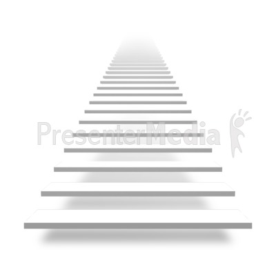 Front Basic Stairs - Presenta - Stairs Clipart