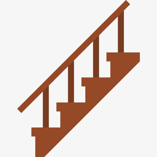 stairs, Cartoon, Ladders PNG  - Stairs Clipart