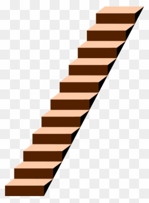 Transparent Stairs - Clipart  - Stairs Clipart