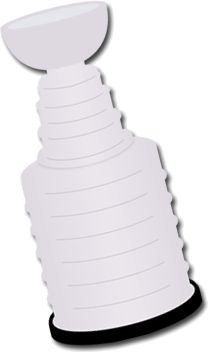 Stanley Cup Clipart Checkered Background. Stanley Cup SVG File