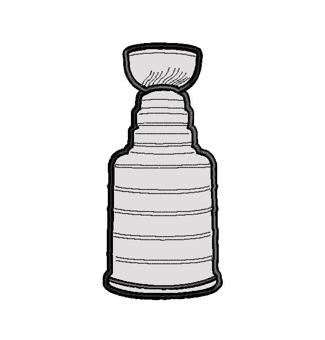 Stanley Cup Vector. Nhl embroidery | Etsy