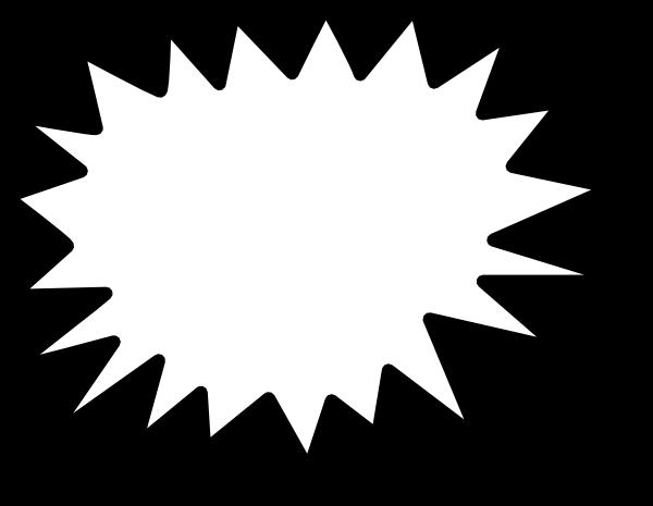 Star Callout Clip Art At Clker Com Vector Clip Art Online Royalty