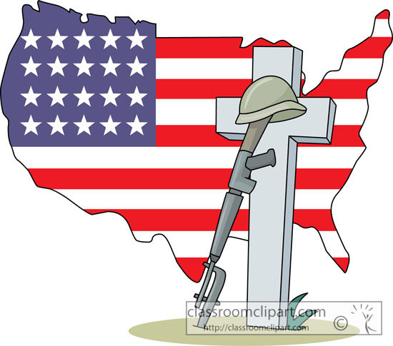Star Flag Memorial Day Clipar - Memorial Day Clipart