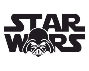 Star Wars Darth Vader graphics design SVG DXF EPS Png Cdr Ai Pdf Vector Art Clipart instant download Digital Cut Print Files Vinyl