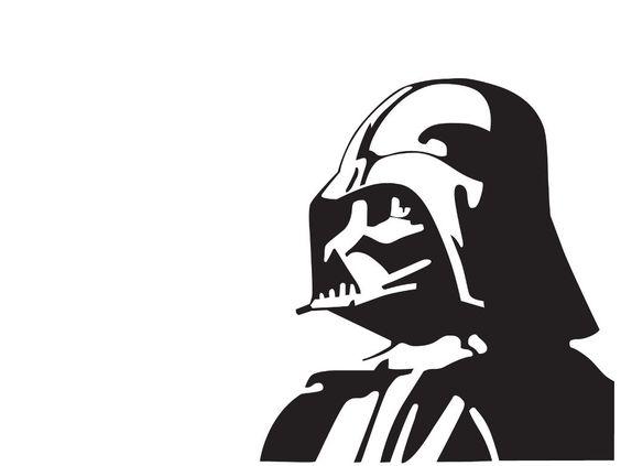 Star Wars Darth Vader Mylar Stencil Wall Art, Furniture Stencil, Fabric Stencil: Amazon.co.uk: DIY u0026amp; Tools