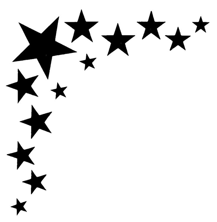 clipart stars accent #5150223 - Stars Clipart