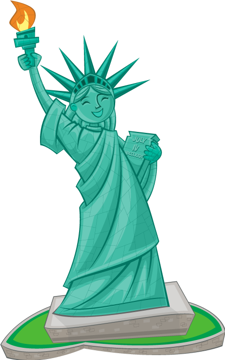 Statue of liberty clipart pictures