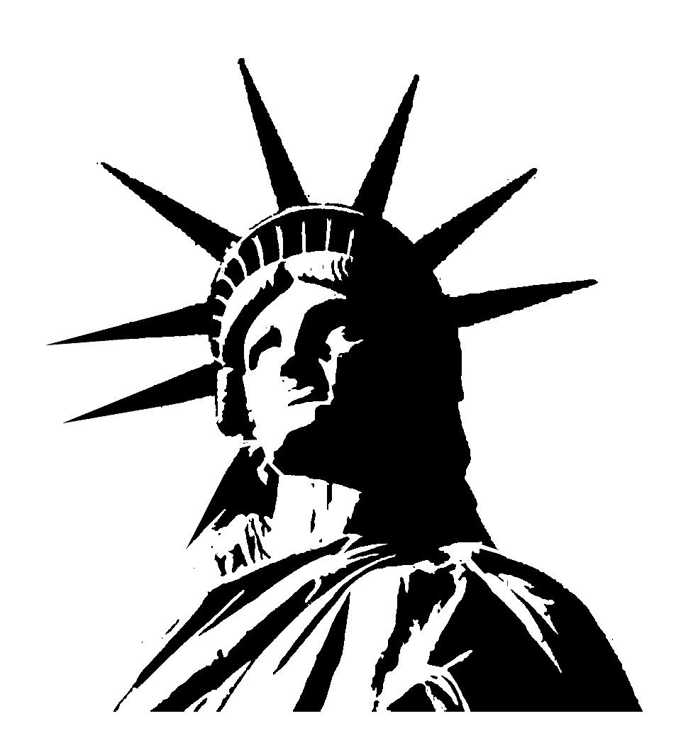 Statue Of Liberty Drawing Clipart Best