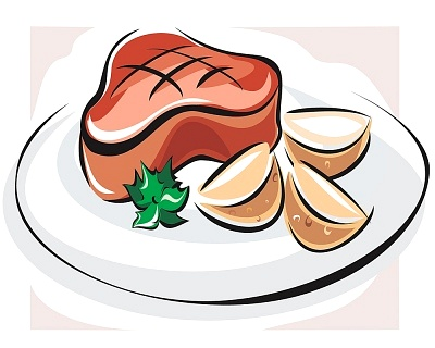 Steak Clipart Izs017445 Jpg