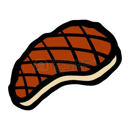 Steak Clipart Steak Clipart Many Interesting Cliparts Picture To Coloring  Page