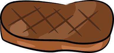 Steak Clipart Transparent #2