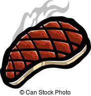 Steak Clipart Vector #2