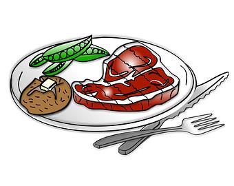 Steak Dinner Clipart Steak Dinner Clip Art Dinner Clipart Dinner