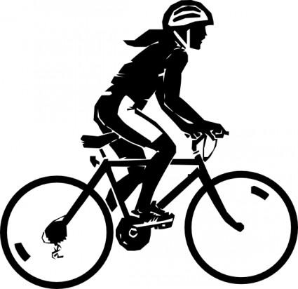 Steren Bike Rider clip art