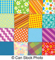 Stock Illustrationby amalga74/6,545; Quilt Patchwork Texture. Seamless Vector Pattern