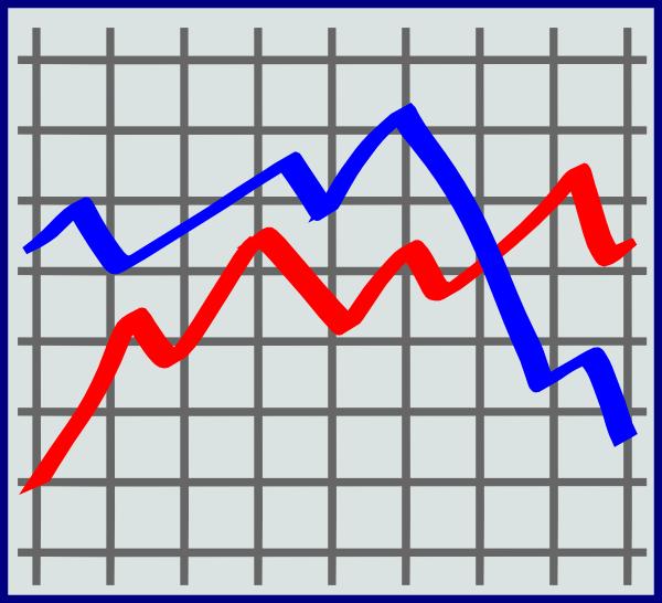 Stock Market Chart Clip Art