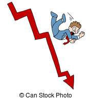 Stock Market Notes Clip Art Vectorby cteconsulting1/136; Falling Stock Market - An image of a falling stock market.
