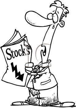 Stock Market Royalty Free .