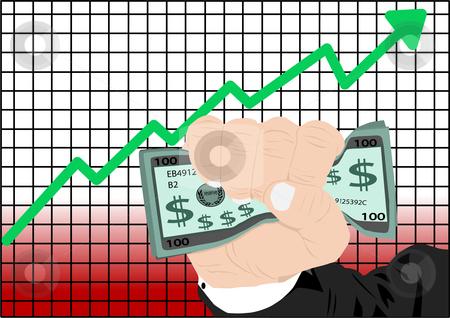 Stock Market Vector Stock Vector Clipart Stock Market Increase Vector